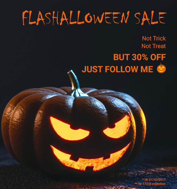 Promo Halloween Sale up to 30% off on the new collection